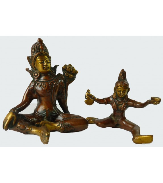 Couple Tantrique - Shakti Small (12cm)